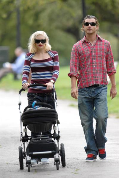 Gwen Stefani And Gavin Rossdale Walk