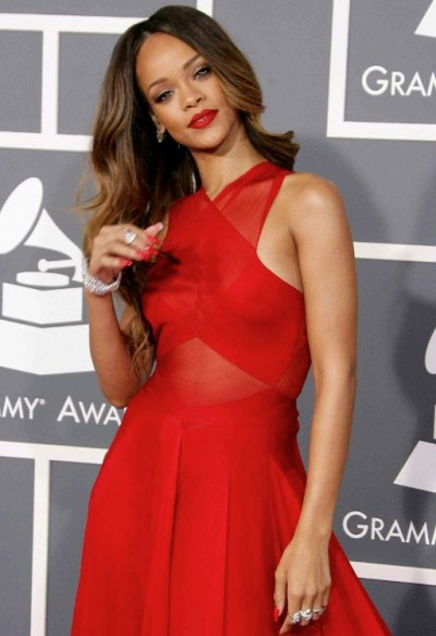 Rihanna at the Grammy Awards 2013