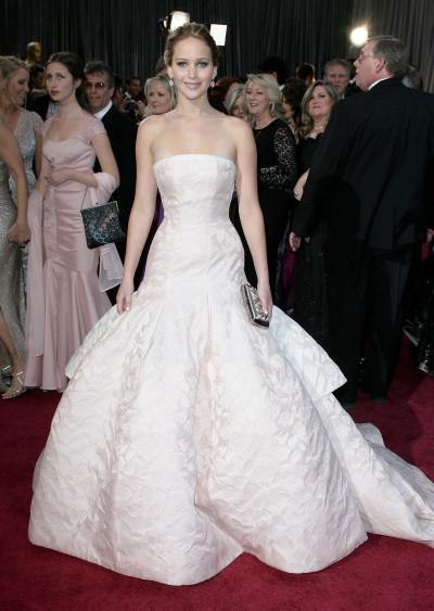 Jennifer Lawrence Oscars Dress