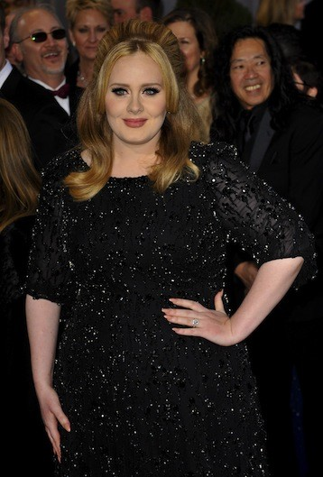 Adele Oscars Dress