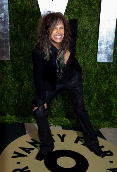 Steven Tyler at an Oscars Party