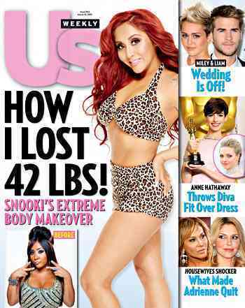 Snooki Bikini Photo (Us Weekly)