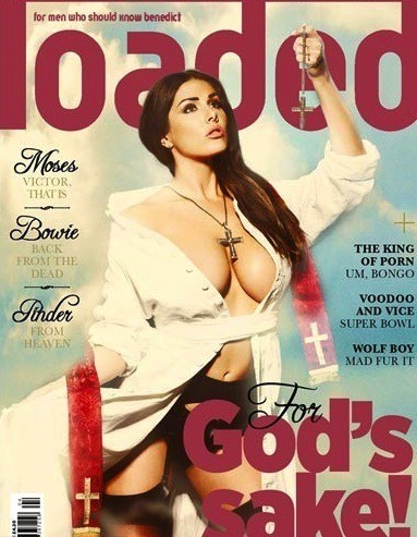 Lucy Pinder, Pope