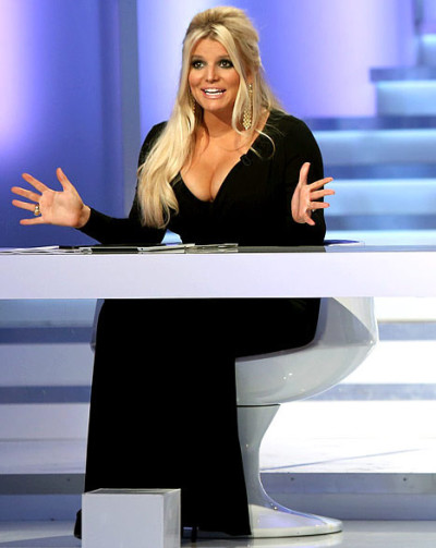 Jessica Simpson Cleavage: HUGE!