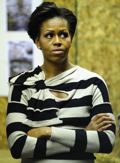 Unhappy FLOTUS