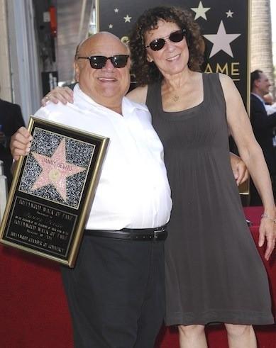 Danny DeVito and Rhea Perlman Pic
