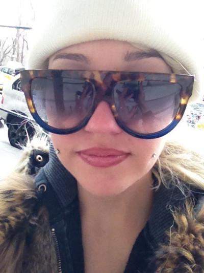 Amanda Bynes' Face Photo