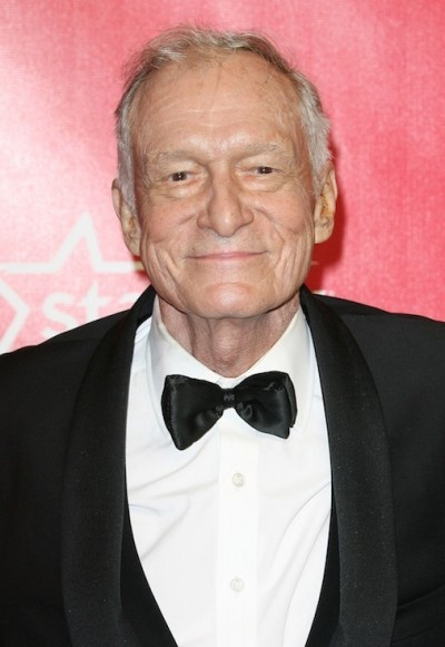 High Hefner in a Tux