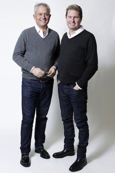 Mark Badgley and James Mischka