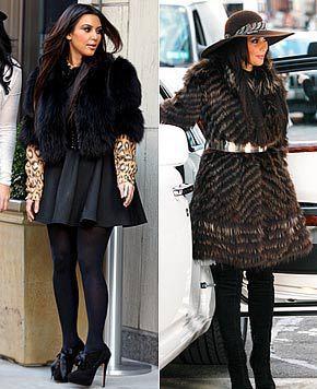 Kim in Fur