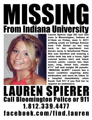 Missing Lauren