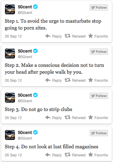 More 50 Cent Tweets