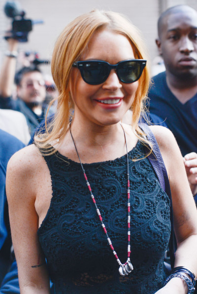 Lindsay Lohan Sunglasses Photo