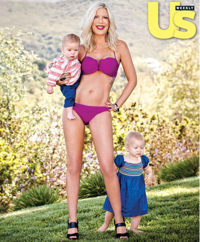 Tori Spelling Bikini Photo