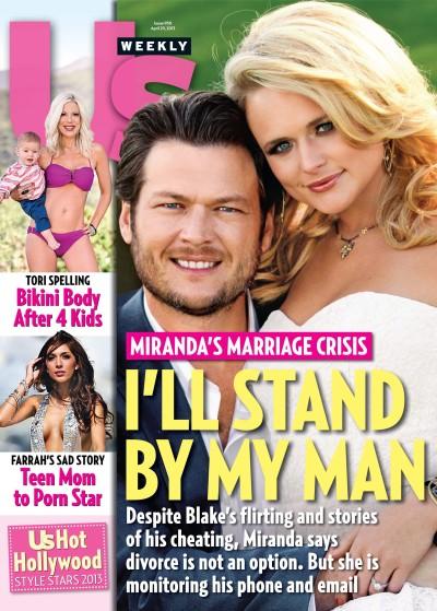 Miranda Lambert, Blake Shelton Us Cover