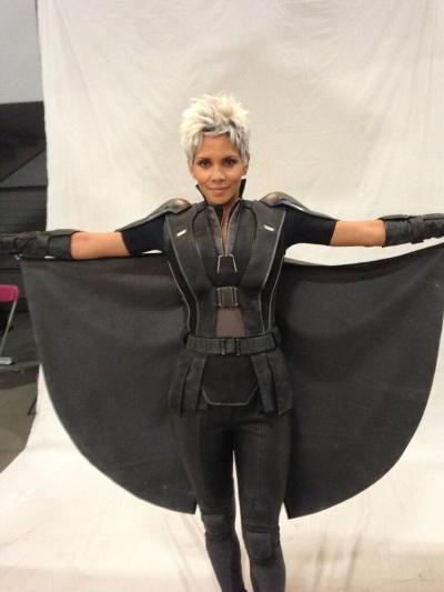 Halle Berry is Storm in X-Men: Days of Future Past