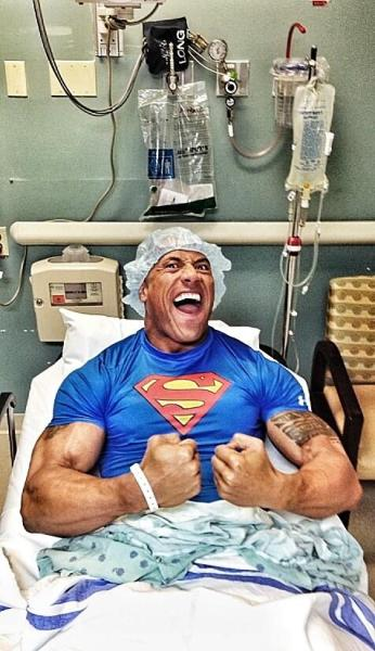 The Rock in the The Hospital