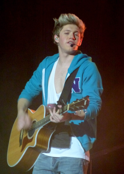 Niall Horan on the Guitar