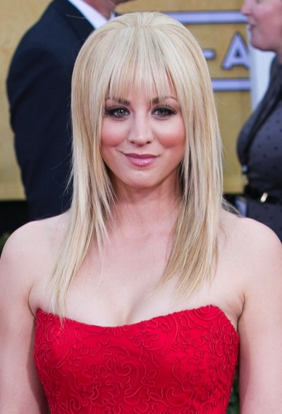 Kaley Cuoco New Hairdo