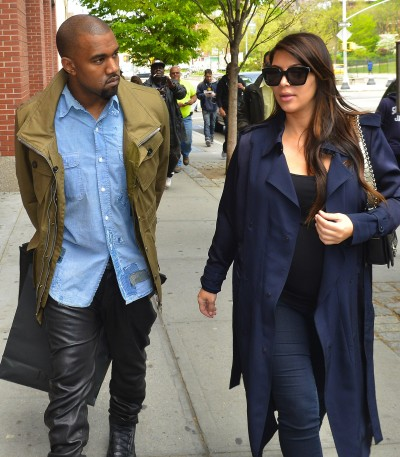 Kim Kardashian and Kanye Photograph