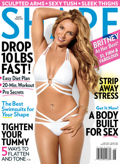 Britney Spears Shape Cover