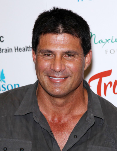 Jose Canseco Poses with Accuser Night of Alleged Rape