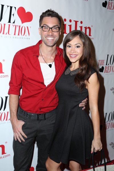 Diana DeGarmo and Ace Young Pic