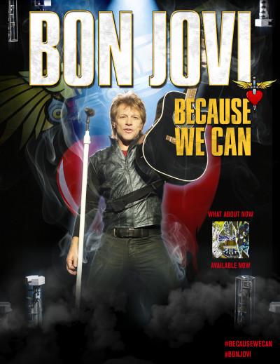 Bon Jovi Tour Poster