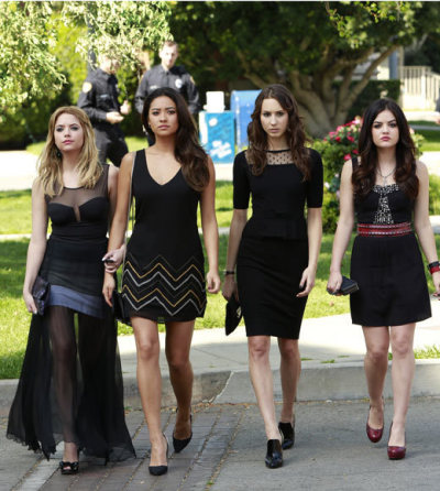 Hanna, Aria, Emily and Spencer