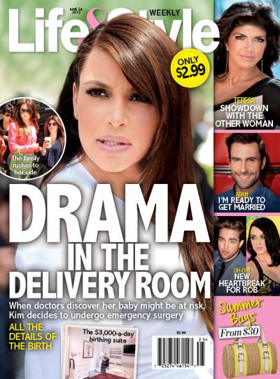Kim Kardashian Life & Style Drama
