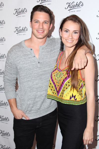 Angela Stacy and Matt Lanter Photo