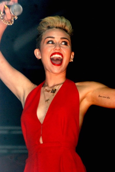 Miley Cyrus Pretty Much Admits: I Love Marijuana!