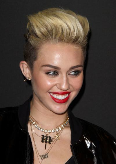 Miley Cyrus Punk Look