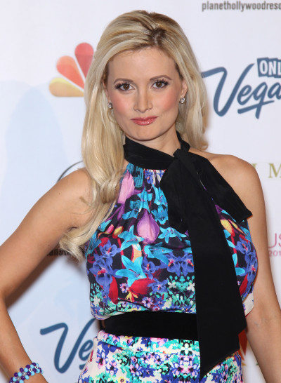 Holly Madison at Miss USA Pageant