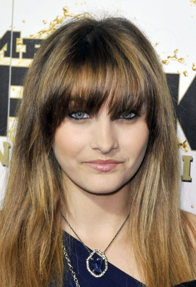 Paris Jackson, Bangs