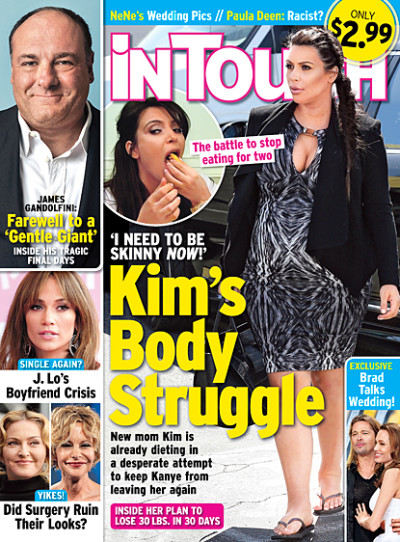 Kim Kardashian Weight Story