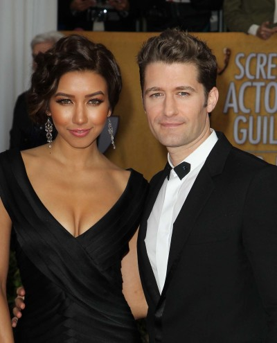 Renee Puente and Matthew Morrison