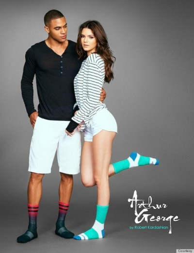 Kendall Jenner Sock Campaign