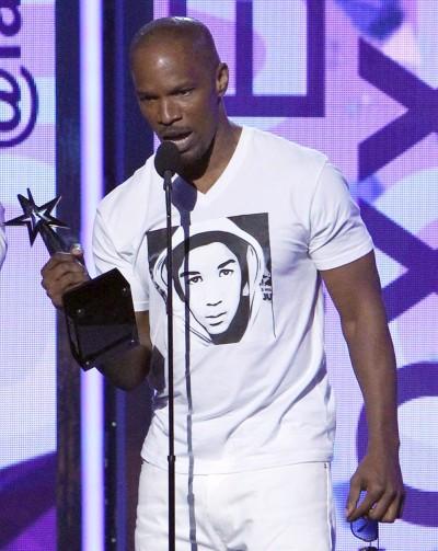 Jamie Foxx Trayvon Martin Shirt