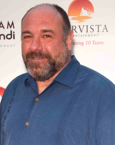 James Gandolfini with a Beard