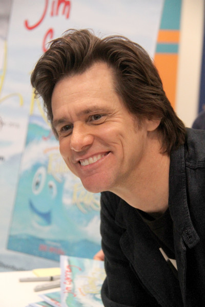 Jim Carrey Close Up