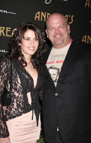 Rick Harrison and Deanna Burditt