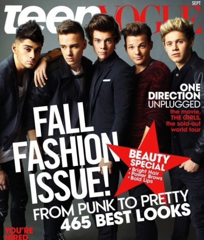 One Direction Teen Vogue Cover