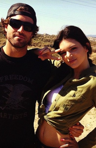 Kendall Jenner and Brody Jenner