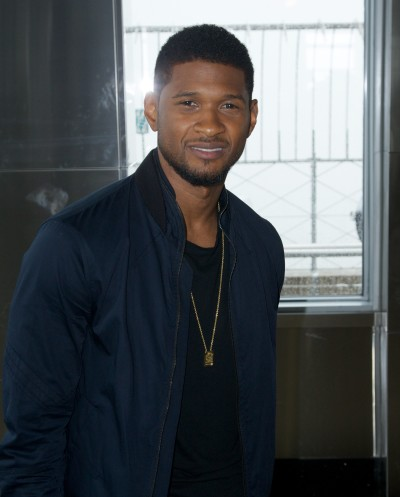 Usher at the Empire State Building