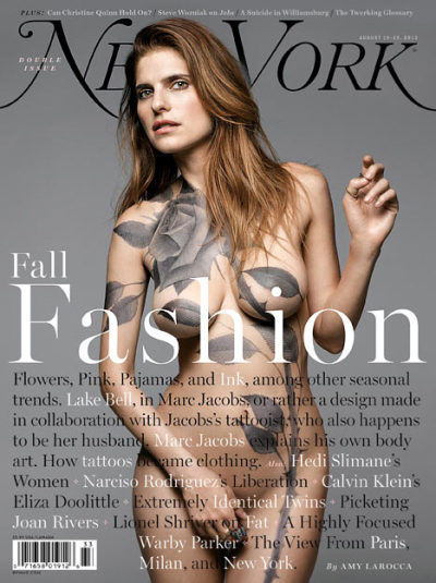 Lake Bell Nude Cover