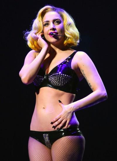 Lady Gaga Bikini Photograph