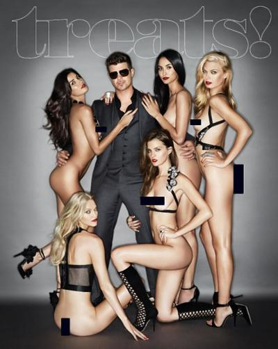 Robin Thicke, Nude Models