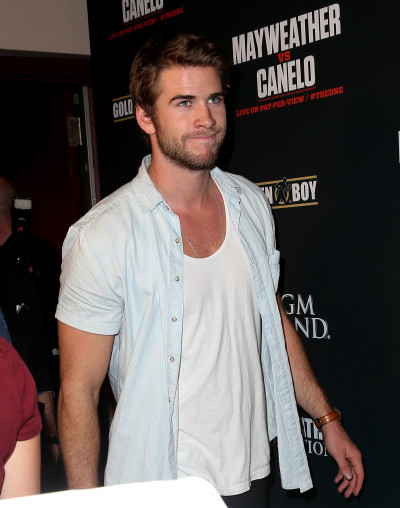 Liam Hemsworth in Las Vegas