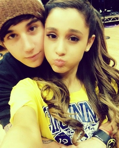 Jai Brooks and Ariana Grande